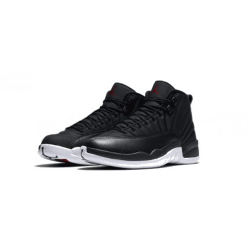 AIR JORDAN XII BLACK AND WHITE