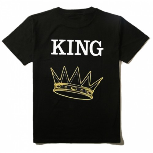 King T-Shirt 100% Cotton